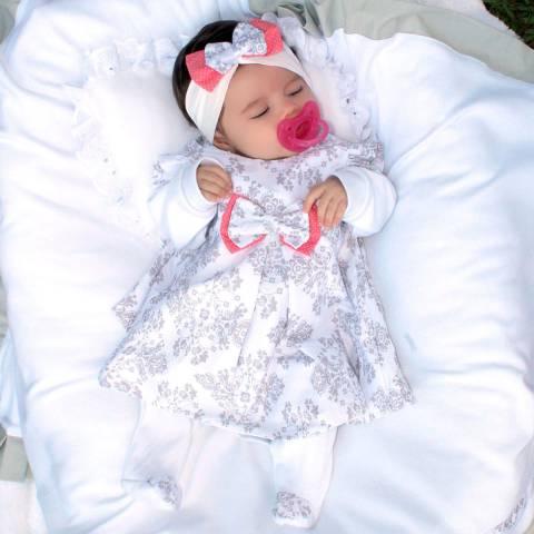 Saída Maternidade Cinderela Menina 5 Peças 7d4598ee3f0