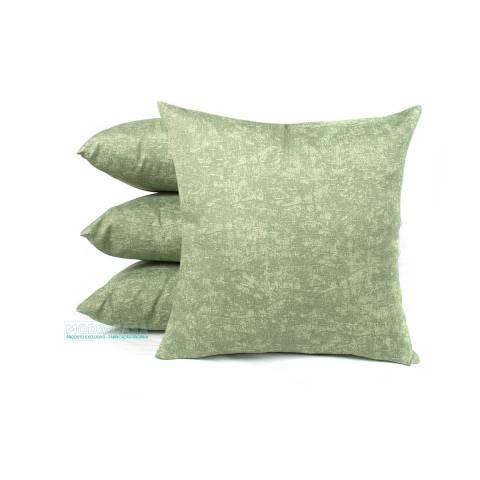 516b2cdfdfbe76 Kit de Almofada Verde Pan 45cm x 45cm 4 Peças